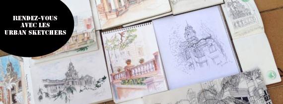 Rendez-vous avec les Urban Sketchers