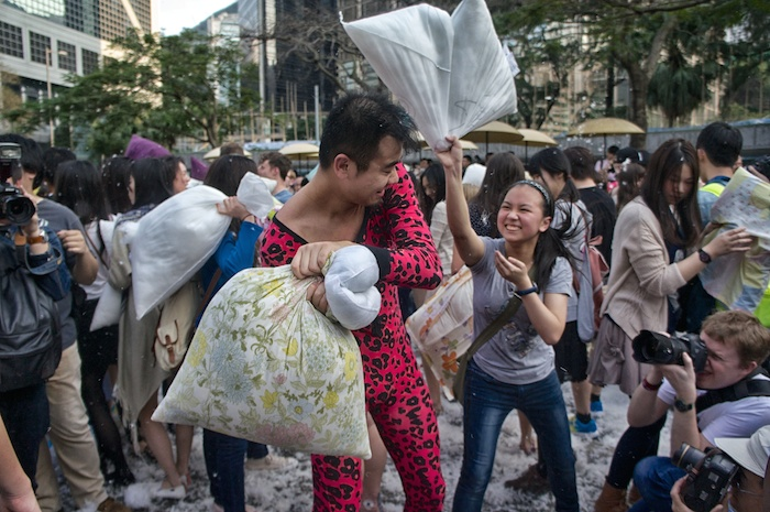 pillow fight days