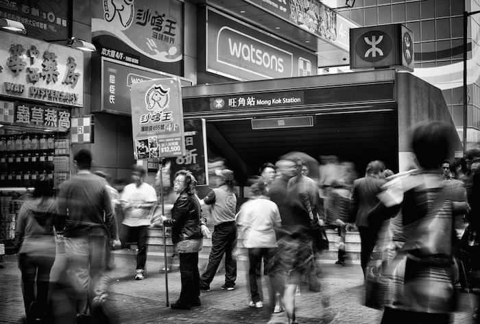 hong kong mong kok long exposure