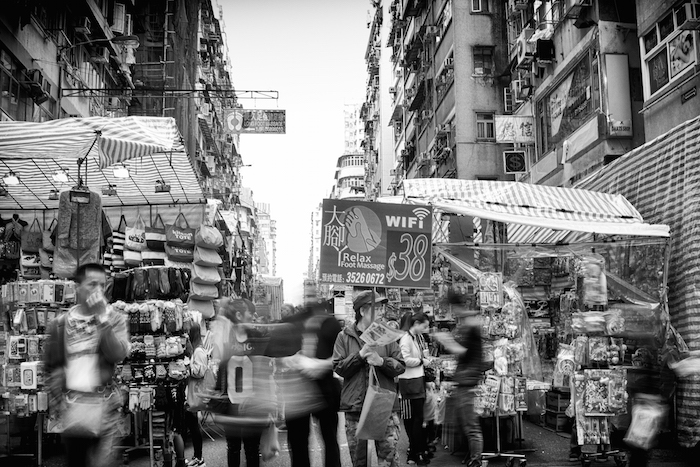 ladies market long exposure
