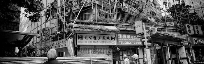 Bamboo scaffoldind